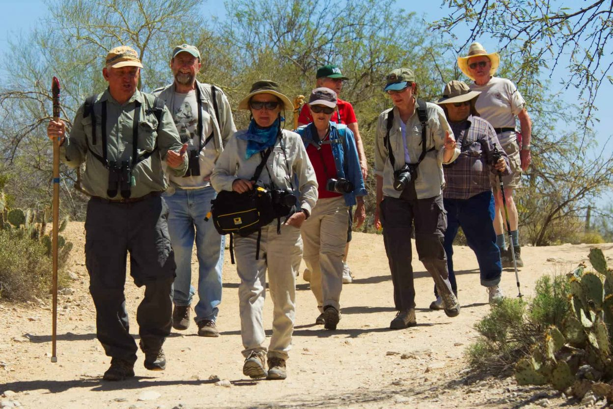Photo of SCVN-led hikers