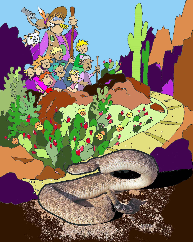 Critter Scene Investigation, Desert Scene